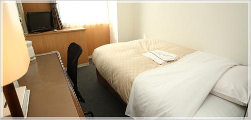 シングルルームになります。
